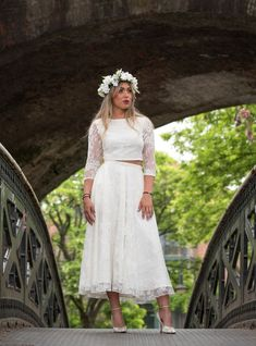 febb9bb293 House of Ollichon bridal separates are perfect for vow renewals. Check out  the stunning collection
