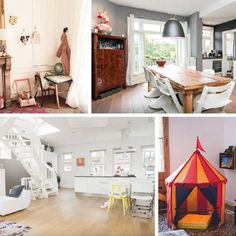 the most amazing @airbnb family flats in Paris, Amsterdam and…