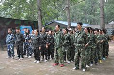 The simulation of CS- Xinke Protective: We are getting training, and everyone is listening  carefully www.xinkeprotective.com