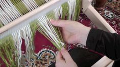 Simple Warping on the Rigid Heddle Loom (with less back ground music)