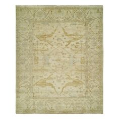 Shop Shalom Brothers  OU-29 Oushak Area Rug, Beige at ATG Stores. Browse our area rugs, all with free shipping and best price guaranteed.