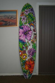 Posca florals artwork by Denise Stephenson...beautiful!   photo: Denise Stephenson
