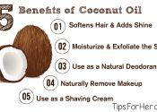 5 Benefits of Coconut Oil