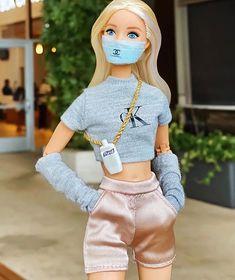Barbie Sets, Barbie Dolls Diy, Barbie Fashionista Dolls, Diy Barbie Clothes, Barbie Doll House, Barbie Outfits, Barbie Life, Barbie Style, Barbie Tumblr