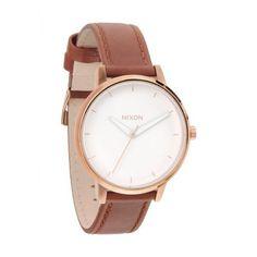 Nixon Womens Kensington Rose Gold Watch