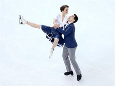 Anna Cappellini and Luca Lanotte of Italy compete in the Figure Skating Team Ice Dance - Short Dance - Sochi 2014 Olympics