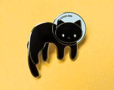 Space Kitty Enamel Pin