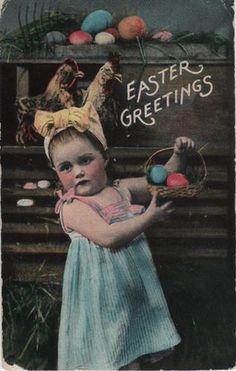 Image: 'Vintage Easter Postcard', found on flickrcc.net