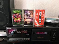 Mit den Musikkassetten aka MCs POSTPARTUM Vol. 2, Space Monkey und Tape24 kommt wieder eine Menge Instrumental HipHop vom Feinsten ins Haus.