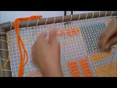 YouTube Loom Weaving, Lana, I Am Awesome, Youtube, Make It Yourself, Embroidery, Knitting, Tenerife, Farmhouse Rugs