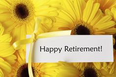 Example of a Retirement Congratulations Letter