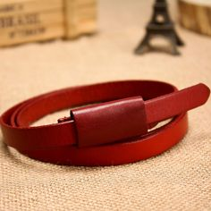Cold steel fashion cowhide tieclasps strap female strap women's belt first layer of cowhide genuine leather belt $20.10