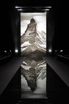 Louis Vuitton show space at Paris Fashion Week A/W 2013: menswear collections