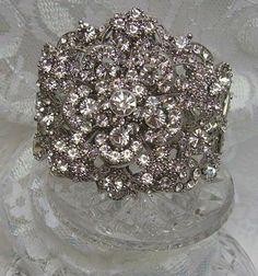 Vintage diamond cuff
