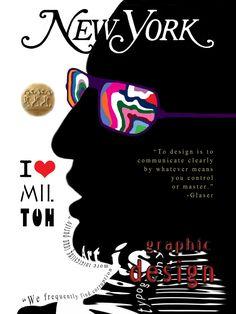 Artwork: Milton Glaser Poster