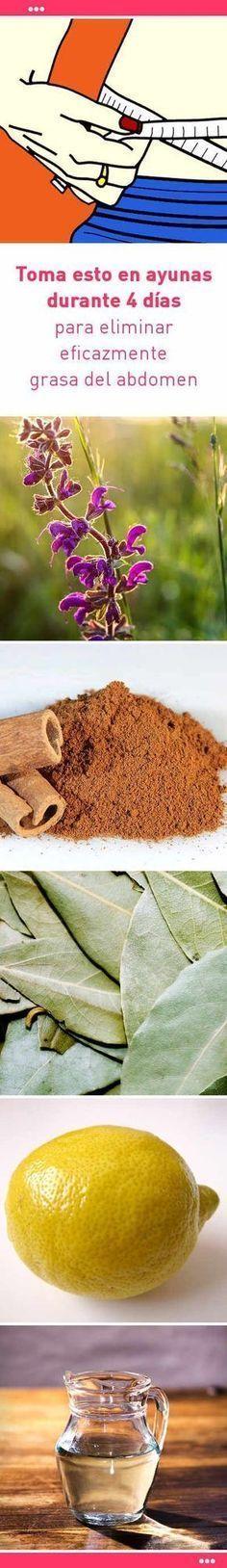 Toma esto en ayunas durante 4 días para eliminar eficazmente grasa del abdomen