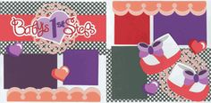 Baby's First Steps - Girl Page Kit