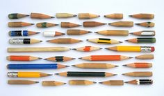 when properly arranged almost anything can look cool.... even stubby little pencils!