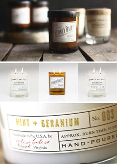 My favorite candle company. Love the Vanilla+Fig scent and the packaging is perfect.