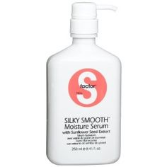 S factor smoothing serum- makes my hair so much silkier when I flat iron it!