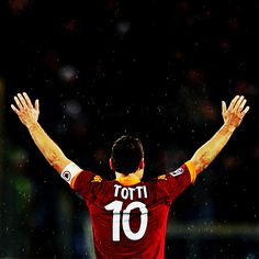 Happy Birthday to AS Romas Gladiatore, Francesco Totti! Daje Roma Daje