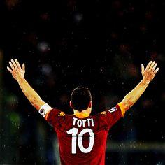 Happy Birthday to AS Romas Gladiatore, Francesco Totti! Daje Roma Daje