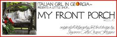 New Blog Banner ~ via My Front Porch by Italian Girl in Georgia ~ Original Photograph and Design by Suzanne MacCrone Rogers