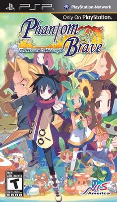 Phantom Brave: Heroes of the Hermuda Triangle - Sony PSP by Atlus, http://www.amazon.com/dp/B004CVR8K8/ref=cm_sw_r_pi_dp_U.Mrub1ADW4QM