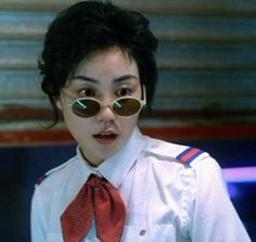 """""""Can't get the song California Dreaming out of my head today after watching Wong Kar-Wai's Chungking Express last night. Photo of Faye Wong from movie Ray Ban Store, Faye Wong, Chungking Express, Street Style Magazine, Tv Icon, Ray Ban Sunglasses Outlet, Oakley Sunglasses, Aesthetic Vintage, Style Icons"""