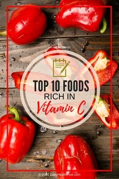 If you want to look and feel healthy, your first step is getting enough vitamin C! It helps fight infections, reduces inflammation and lessens free radical damage in your body.�The following foods rich in vitamin C will boost your health like no other!