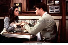 THE ROCKETEER (1991) JENNIFER CONNELLY, BILL CAMPBELL RKT 114 CREDIT DISNEY - Stock Image