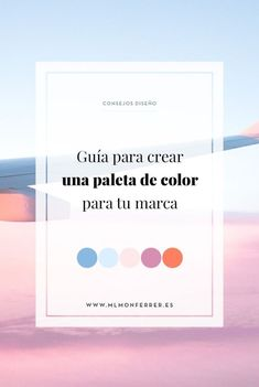 Guía para crear una paleta de color para tu marca | MlMonferrer Lettering Design, Logo Design, Graphic Design, Marca Personal, Personal Branding, Social Networks, Social Media, Bussines Ideas, Instagram Marketing Tips