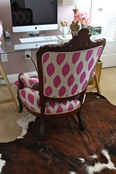 blog.......she's an interior designer and has a ton of DIY projects Diy Projects To Try, Home Projects, Home Interior Design, Interior Ideas, Casa Ideal, Office Decor, Home Remodeling, Antiques, Diy Furniture