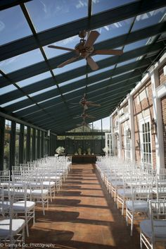 Ceremony in the Solarium at Highlands Country Club. Photography by Sarma & Co.  Founded in 1898, The Highlands Country Club is a beautiful property in the Hudson Highlands one hour from NYC.  The Highlands provides recreation, golf, swimming, tennis and large and small events.
