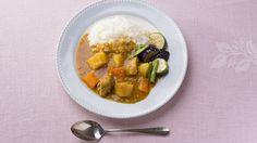 Curry con arroz estilo japonés