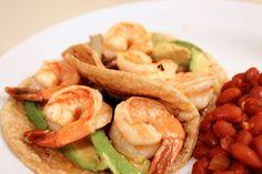 Lime Shrimp Tacos. DeuxMaisons.com