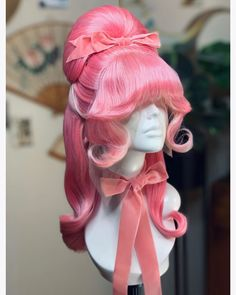 Unique Fashion, Vintage Fashion, Drag Wigs, Hair Reference, Fantasy Hair, Wig Hairstyles, Hair Ideas, Curly Hair Styles, Fashion Inspiration