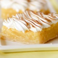 Lemon Meringue Pie Bars Recipe