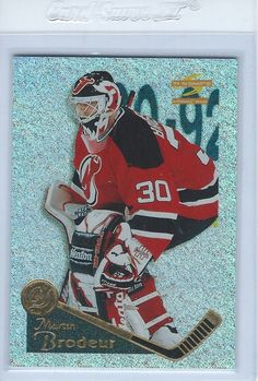 1995-96 Martin Brodeur Pinnacle Summit Ice #27 New Jersey Devils #NewJerseyDevils