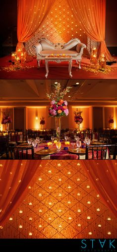 A beautiful #orange #maharani #wedding! www.getstak.com