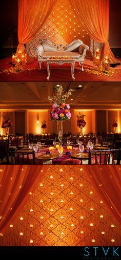 A beautiful #orange #maharani #wedding! www.getstak.com