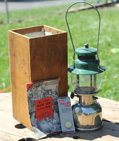 Vintage Coleman Instantlighting Lantern no. by Raggedybabygifts, $50.00
