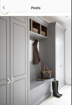 We all know that open plan kitchen – dining rooms are absolutely perfect for modern family living but the downside is that for every wall knocked through, Mudroom Laundry Room, House Design, Boot Room, Mudroom Design, Living Room Designs, Hallway Storage, Room Design, Entrance Decor, Mudroom