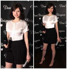 Love the nude shoes with this get up  Sophie Ellis-Bextor - Dom Perignon Party in London February 2008
