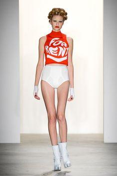 Jeremy Scott Spring 2011 Ready-to-Wear Fashion Show - Katja Borghuis