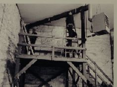 Gallows at the Kansas State Penitentiary at Lansing, in course of preparation for Smith & Hickock's imminent executions, April Kansas Usa, Kansas City, Famous Murders, In Cold Blood, Gallows, Throughout The World, True Crime, Will Smith, Clutter