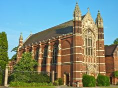 Selwyn College Chapel Exterior Cambridge