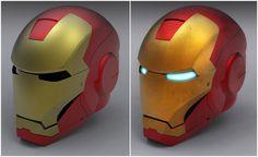 Iron Man Helmet (SolidWorks)
