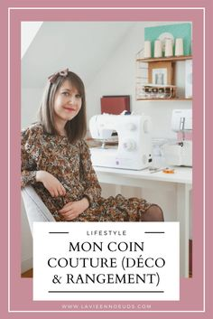 Mon coin couture (déco & rangement) Coin Couture, Singer Tradition, Blog Couture, Room, Crafts, Sewing Desk, Sewing Lessons, Couture Facile, Organisation