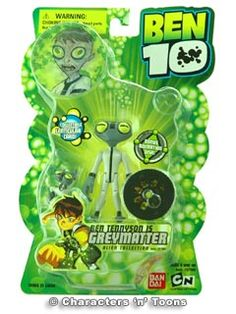ben10 toys | Unfortunately the Ben 10 Action Figure Greymatter is temporarily out ...